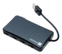 CONNECT IT USB hub se 4 porty