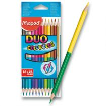 Maped Color´Peps Duo - oboustranné pastelky