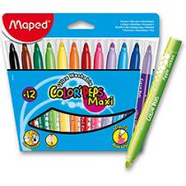 Maped Color´Peps Maxi - 12 barev - fixy