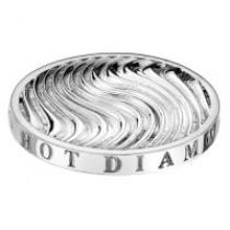 Hot Diamonds Silver Wave Coin