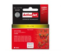 Action ActiveJet Ink Canon CLI-521Y