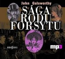 Sága rodu Forsytů - CD mp3 - John Galsworthy CD