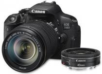 Canon EOS 700D + 18-135 mm IS STM + 40 mm STM