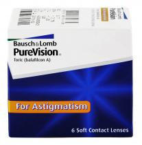 BAUSCH & LOMB PureVision Toric 6ks