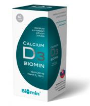 Biomin Calcium s vitaminem D 60 kapslí