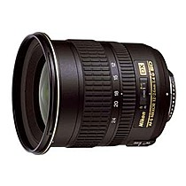 Nikon 12-24mm F4G IF-ED AF-S DX Zoom-Nikkor