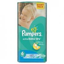 Pampers Active Baby-dry Extra Large 56ks