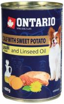 Ontario Mini Calf, Sweetpotato, Dandelion and linseed oil 400g