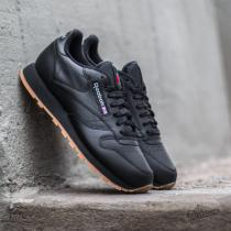 Reebok Classic Leather Black/ Gum