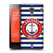 Pouzdro HeadCase Anchors Aweigh Nautical - Prints pro Xiaomi Redmi 1S