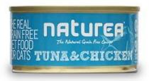 Naturea GF Cat Tuna Chicken 80g