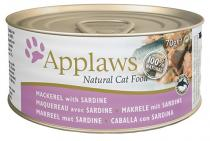 Applaws Cat makrela a sardinky 70g