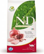 N&D Farmina Grain Free Neutered Chicken Pomegranate 5kg
