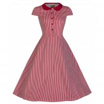 LINDY BOP RETRO Wendy Red Striped Vintage
