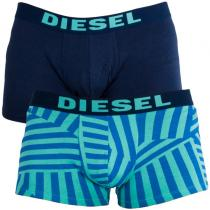 Diesel 2PACK  Trunk All Over Turquoise