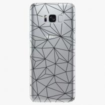 Samsung - Abstract Triangles 03 - black - Galaxy S8 Plus