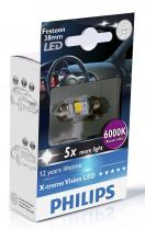 Philips LED 12V 1W 6000K Festoon T10,5x38