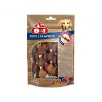8 in1 Pet Products 8in1 Triple Flavour skewers (6ks)