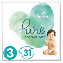 Pampers Pure Protection S3 31 ks