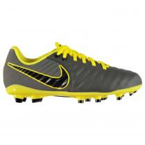 NIKE Nike Tiempo Legend Academy Junior FG Football Boots, DkGrey/Yellow, 38.5
