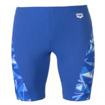 Arena Arena Shattered Glass Jammer Mens, Blue, L