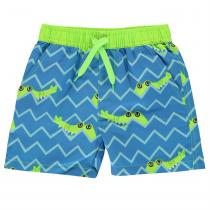 Crafted Board Shorts Childrens, Crocodile, 122