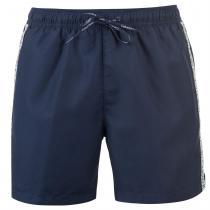Calvin Klein Calvin Klein Taped Drawstring Swim Shorts, Navy, S