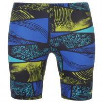 Adidas adidas Infinitex Parley Swimming Jammers Mens, Ink/Blue/Yellow, L