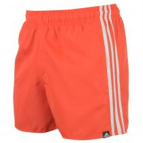 Adidas Adidas 3 Stripe Swim Shorts Mens