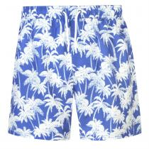 Hot Tuna Hot Tuna Palm Print Shorts Mens, Royal, S