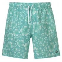 Hot Tuna Hot Tuna Printed Shorts Mens, Mint/White, XL