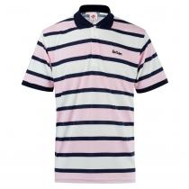Lee Cooper Lee Cooper Stripe Polo Shirt Mens