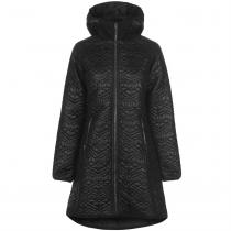 Usa Pro USA Pro Quilted Parka Jacket Ladies, Black Wet, S