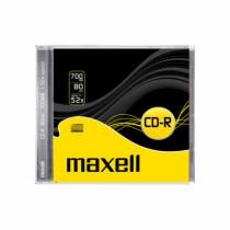 Maxell Maxell CD-R 700MB 52x 1PK JC 624826
