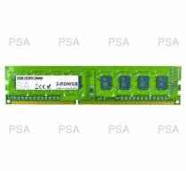 652073 - 2-Power 2GB PC3-10600U 1333MHz DDR3 CL9 Non-ECC DIMM 2Rx8 ( DOŽIVOTNÍ ZÁRUKA ) - MEM2102A