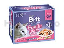 Brit Brit Premium Cat Pouch Family Plate Jelly 1020g