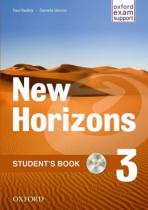 Oxford University Press New Horizons 3 Students´s Book with CD pack - Radley Paul