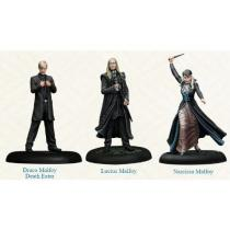 Asmodee The Harry Potter Miniatures Adventure Game Malfoy Family