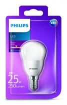 PHILIPS Lighting LED 4W/25W E14 WW P45 FR ND mini kapka