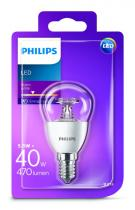 PHILIPS Lighting LED 5,5W/40W E14 WW P45 CL ND kapka lotus mini