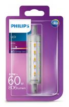 PHILIPS Lighting LED 6,5W/60W R7S WH ND 118mm linear