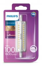 PHILIPS Lighting LED 14W/100W R7S WH D 118mm linear