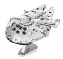 METAL EARTH 3D Star Wars: Millenium Falcon (ICONX)