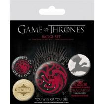 Pyramid International Placky Game of Thrones - Fire and Blood