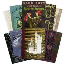 The Art Printorium Ltd Sada pohlednic Harry Potter - Obálky knih z Bradavic (20 ks)