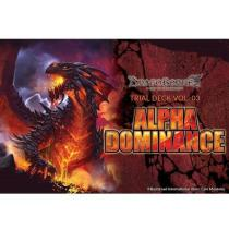 Bushiroad Dragoborne Rise to Supremacy Alpha Dominance Trial Deck