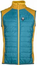 High Point Flow 2.0 Vest Petrol/yellow