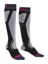 Bridgedale Ski Easy On Women's graphite/purple/134