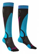 Bridgedale Ski Lightweight Women's black/blue/007
