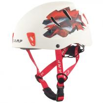 CAMP Přilba Armour white/red 50-57 cm